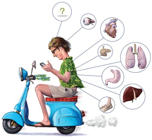 科学人杂志- 骑车骑到忘我